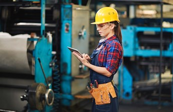 blue collar work for women